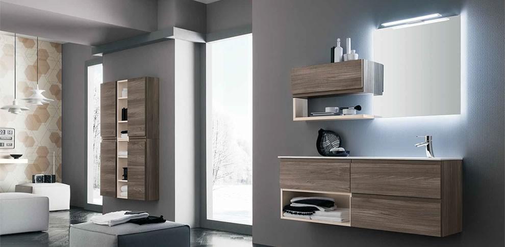 Arredamento bagno linea bagno trento for Mobili d arredo moderni