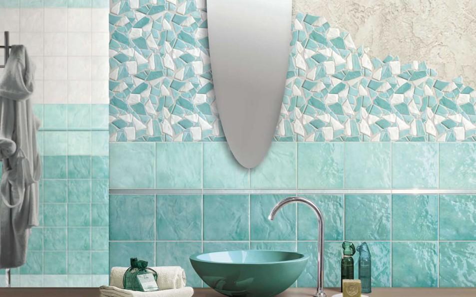 piastrelle e mosaici linea bagno trento